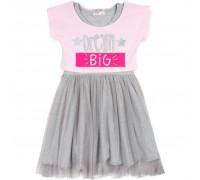 Плаття Breeze с топом и фатиновой юбкой (12357-152G-pink)