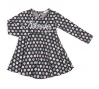 Плаття Breeze в горошок (13073-110G-gray)