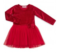 Плаття Breeze велюровое (12674-110G-red)