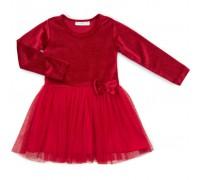 Плаття Breeze велюровое (12674-116G-red)