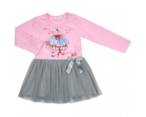 Плаття Breeze з фатіновой спідницею (12710-116G-pink)