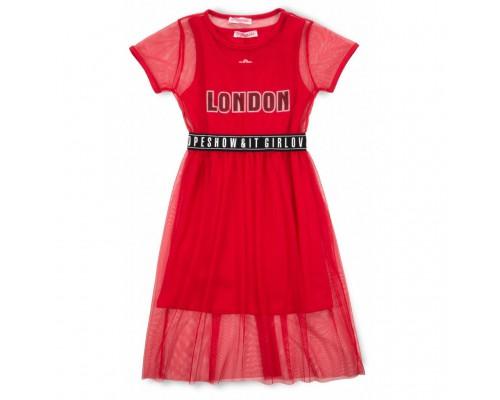 Плаття Monili з сіткою (9016-128G-red)