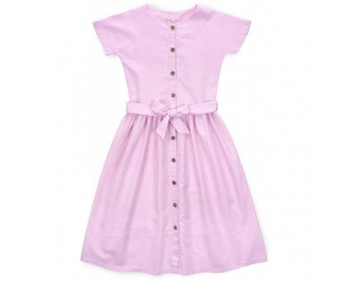 Плаття Bushra у смужку (201015-158G-pink)