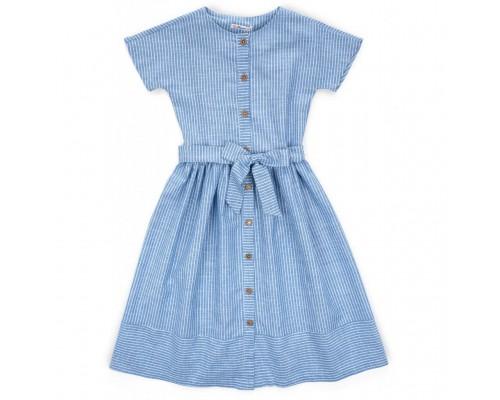 Плаття Bushra у смужку (201015-152G-blue)