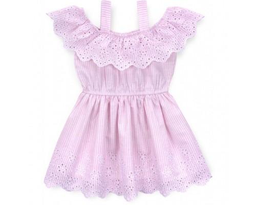 Плаття Bushra з вишивкою (201034-98G-pink)