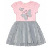 Плаття Breeze з метеликами (14370-116G-pink)