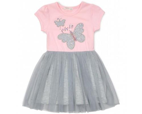 Плаття Breeze з метеликами (14370-128G-pink)