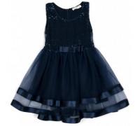 Плаття Breeze з фатіновою спідницею (14502-140G-blue)
