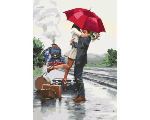 """Картина Люди """"В очікуванні пригод"""" 35*50см KHO2676"""