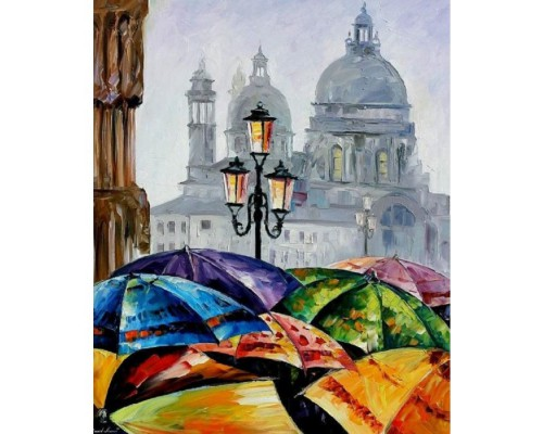 Картина. Яскраві парасольки 40х50см KHO2136