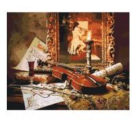 """Картина. Заміський будинок """"Чарівна музика скрипки"""" 40*50см KHO2509"""