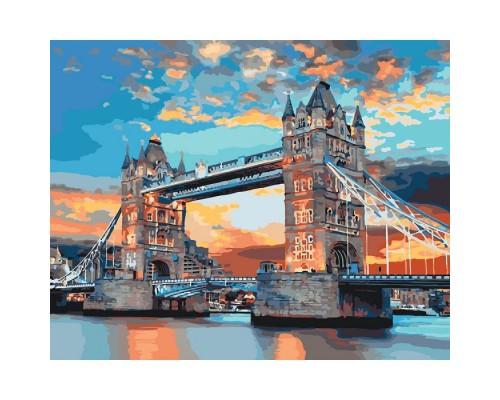 """Картина. Міський пейзаж """"Лондонський міст"""" 40*50см * KHO3515"""