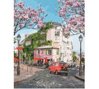 """Картина. Міський пейзаж """"Французька подорож"""" 40*50см * KHO3500"""