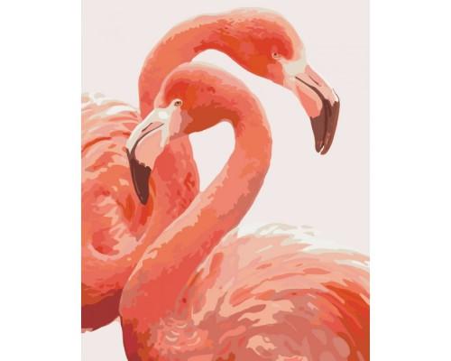 """Картина. Тварини, птахи """"Грація фламінго"""" 40*50см * KHO2446"""