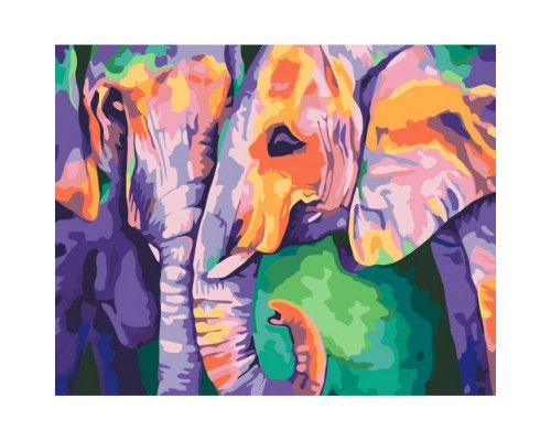 """Картина. Тварини, птахи """"Індійські фарби"""" 40х50см KHO2456"""