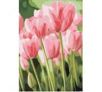 """Картина. Букети """"Весняні тюльпани"""" 35х50см KHO2069"""