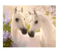 """Картина. Тварини, птахи """"Пара коней"""" 40*50см KHO2433"""