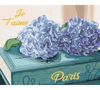"""Картина. Букети """"Улюблений Париж"""" 40*50см KHO3034"""