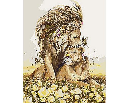 """Картина. Тварини, птахи """"Романтичне почуття"""" 40*50см KHO4100"""