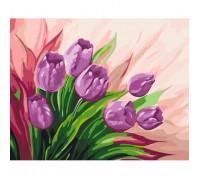 """Картина. Квіти """"Перські тюльпани"""" 40*50 * KHO2924"""