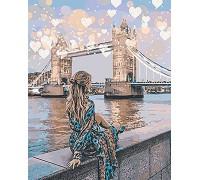 """Картина. Люди """"Романтичний Лондон"""" 40*50см KHO4574"""