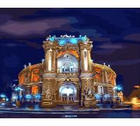 """Картина. Brushme """"Оперний театр Одеса"""" GX8423"""