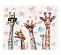 """Картина. """"Веселі жирафи"""" 40*50см KHO4115"""