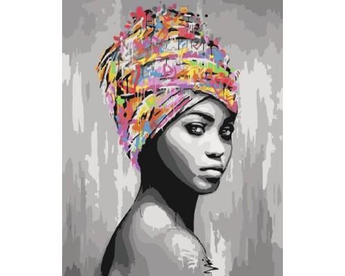 """Картина. """"Африканська краса"""" 40*50см KHO4587"""
