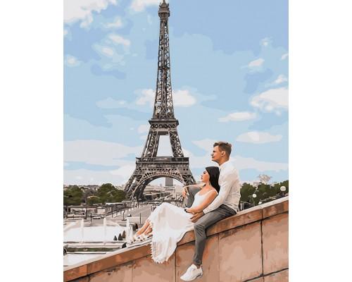 """Картина. Brushme """"Куровський і Литвин в Парижі"""" GX25455"""
