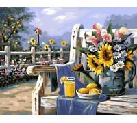 """Картина. Brushme """"Ранок в саду"""" GX4660"""