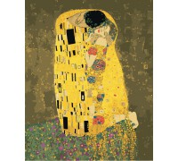 "Картина ""Аура поцілунку 2"" - Густав Клімт 40*50см KHO4534"