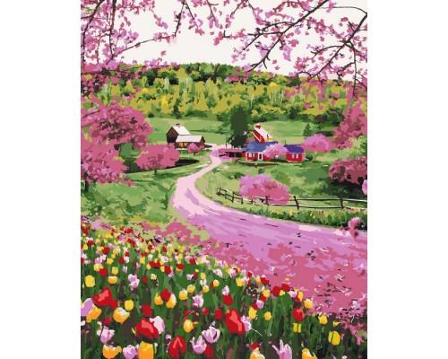 """Картина. """"Весняне різнобарв'я"""" 40*50см. KHO2254"""
