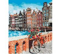 """Картина. """"Канікули в Амстердамі"""" 40*50см. KHO3554"""