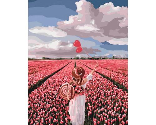 """Картина. """"Рожева мрія"""" 40*50см KHO4603"""