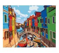 """Картина Міський пейзаж """"Фарби Міста"""" 40*50см KHO3502"""