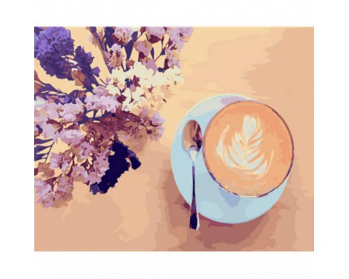 "Картина. Brushme ""Лавандова кава"" GX22206"