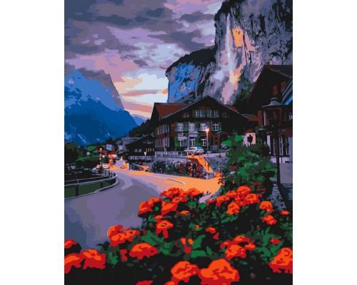 """Картина. """"Літо в Швейцарії"""" 40*50см KHO2262"""