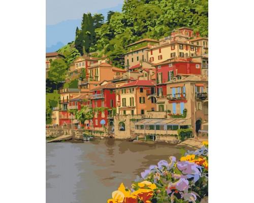 """Картина. """"Набережна Італії"""" 40*50см KHO2259"""