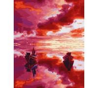 """Картина. Brushme """"Малиновий захід сонця"""" GX28890"""