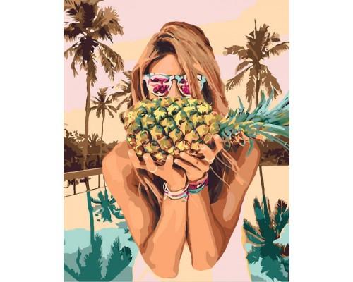 """Картина. """"Соковитий ананас"""" 40*50см KHO4629"""