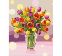"""Картина. """"Сонячні тюльпани"""" 40*50см KHO3064"""