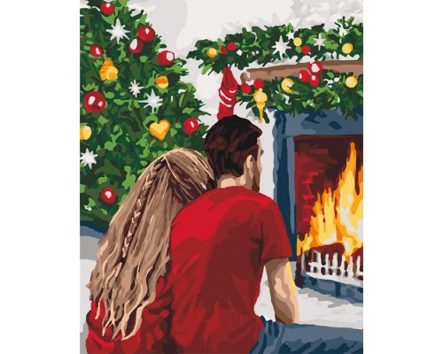 """Картина. """"Різдвяна романтика"""" 40*50см KHO4640"""