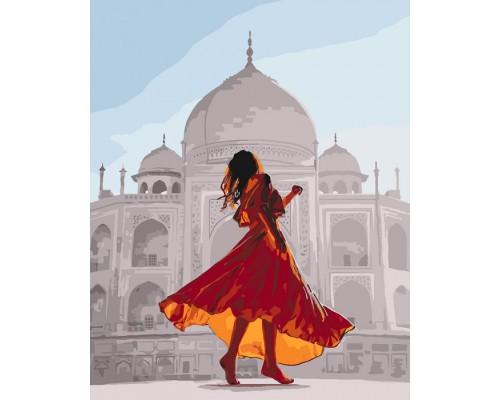"""Картина. """"Перлина Індії"""" 40*50см KHO4639"""