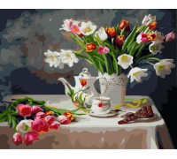 """Картина. Brushme """"Весняний натюрморт"""" GX8391"""