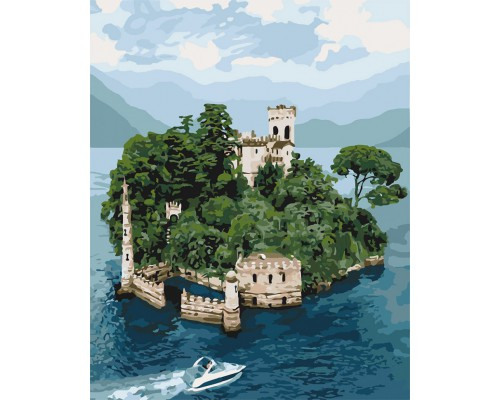 """Картина. """"Таємничий острів"""" 40 * 50см KHO3564"""