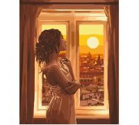 "Картина. ""Золотий світанок"" 40*50см KHO4648"
