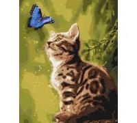 """Картина. """"Загадковий метелик"""" 40 * 50см KHO4150"""