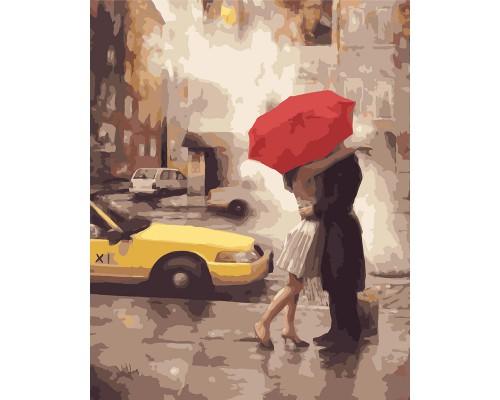 """Картина. Brushme """"Любов в Нью-Йорку"""" GX7473"""