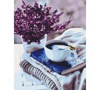 """Картина. Квіти """"Лавандовий ранок"""" 40 * 50 см KHO5580"""