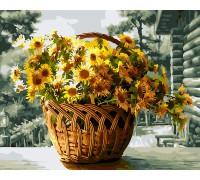 """Картина. Brushme """"Жовті хризантеми"""" GX26080"""